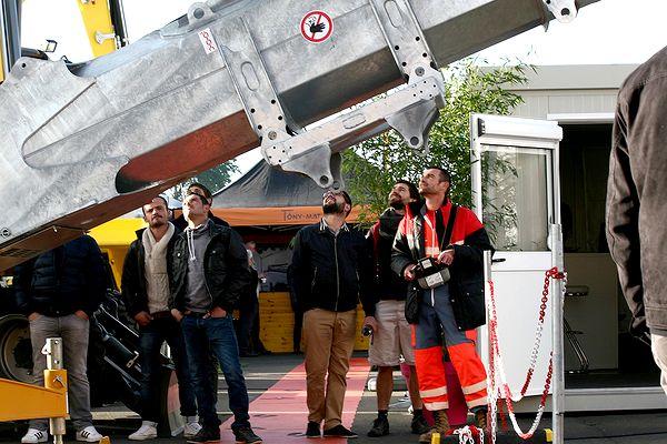 Nouvelle grue Potain HUP 32-27 chez Tony-Mat matériel btp Bretagne Morbihan Vannes magasin  outillage et engins de chantier neufs et occasions