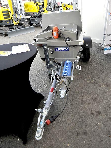 La pompe à chapes fluides à moteur Diesel Kubota - TF300 de Lancy chez Tony-Mat matériel btp Bretagne Morbihan Vannes magasin  outillage et engins de chantier neufs et occasions