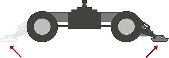 Stabilisation de la mini-pelle EW65 de Wacker Neuson, Tony-Mat pelles et matériel btp Bretagne Morbihan