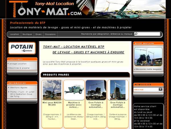 Cliquez sur l'image pour accéder au site Tony-Mat Location