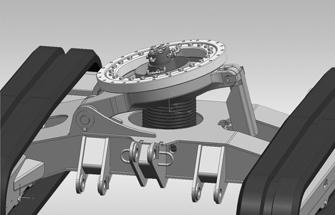 Option VDS Vertical Digging System pour les mini pelles mécaniques Wacker Neuson, Tony-Mat matériel btp Bretagne 56 Morbihan.