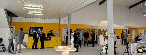 Journée Portes Ouvertes chez Tony-Mat matériel btp Bretagne Morbihan Vannes magasin  outillage et engins de chantier neufs et occasions