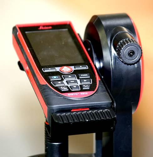 Le distancemètre Disto de Leica