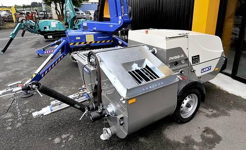 Machine à projeter de Lancy : PH9B-R