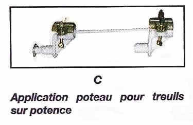 Application poteau pour treuils sur potence - IMER