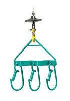Image du support pour trois éléments d'échafaudage pour treuils élévateurs - IMER - accessoire levage manutention, Bretagne.