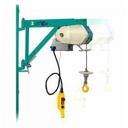 Treuil élévateur avec une portée de 150 kg, IMER ET 150 V