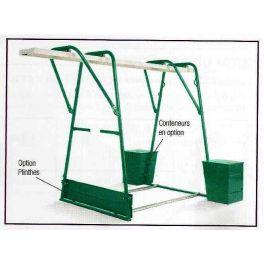 Chevalet pour treuil élévateur d'une capacité jusqu'à 300 kg, IMER