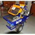 Machine à projeter pour mortiers et enduits extérieurs - Euromair - COMPACT-PRO35
