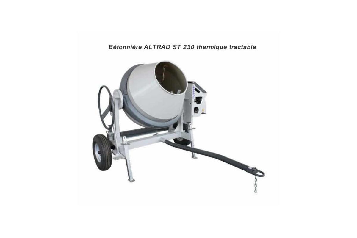 b tonni res st 230 de altrad malaxage de 180 litres tractable 90 km h. Black Bedroom Furniture Sets. Home Design Ideas
