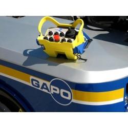 GAPO : chargeur guide télécommandé pour déplacer et positionner les grues et les engins de chantier