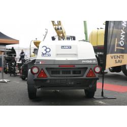 Treuil élévateur à chevalet d'une portée de 500 kg, IMER G 500 levage manutention matériel btp Bretagne
