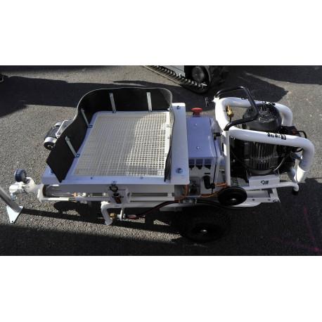 Pompe à vis électrique - GIEMA LANCY - TP5 - machine à projeter - Tony-Mat matériel BTP Bretagne Morbihan Vannes