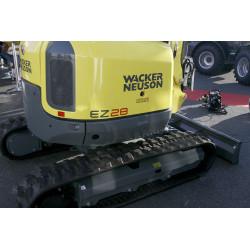 Mini-pelle WACKER NEUSON ET35 sur chenilles, pelleteuse, excavatrice, Tony-Mat pelles et matériel btp Bretagne Morbihan