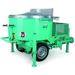 Malaxeur électrique horizontal à forte capacité de production IMER MIX 750