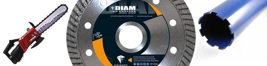 Disque diamant et outils diamantés