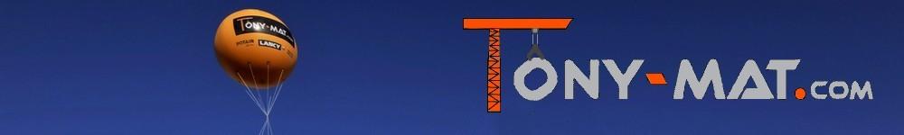 Tony-Mat : vente de matériel btp pour les professionnels du bâtiment et les particuliers, vente, location, dépannage et réparation de grues à montage rapide et d'engins de chantier pour la Bretagne, Vannes et le Morbihan